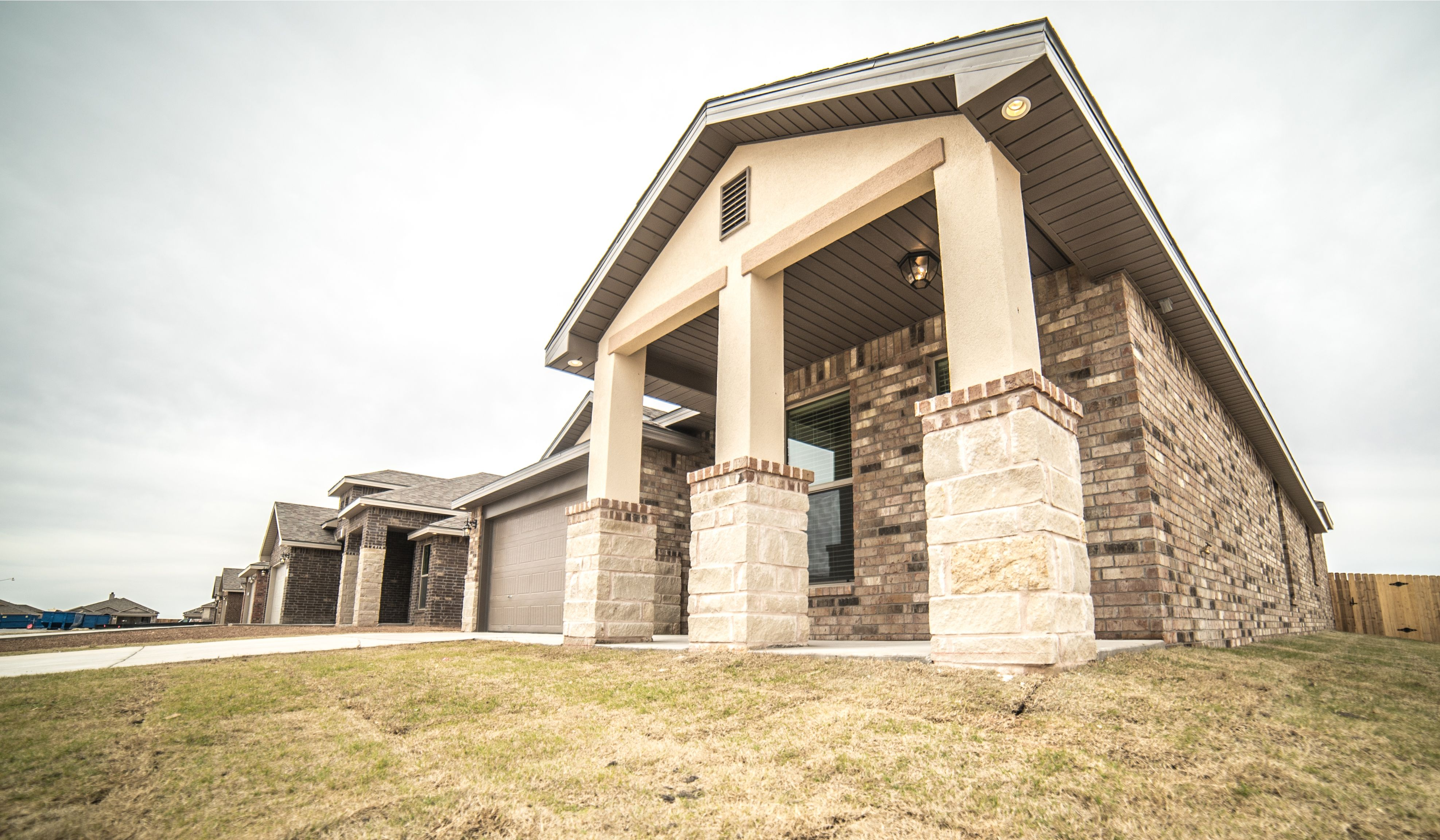 Exterior featured in the Mary Kay By Betenbough Homes in Midland-Odessa, TX