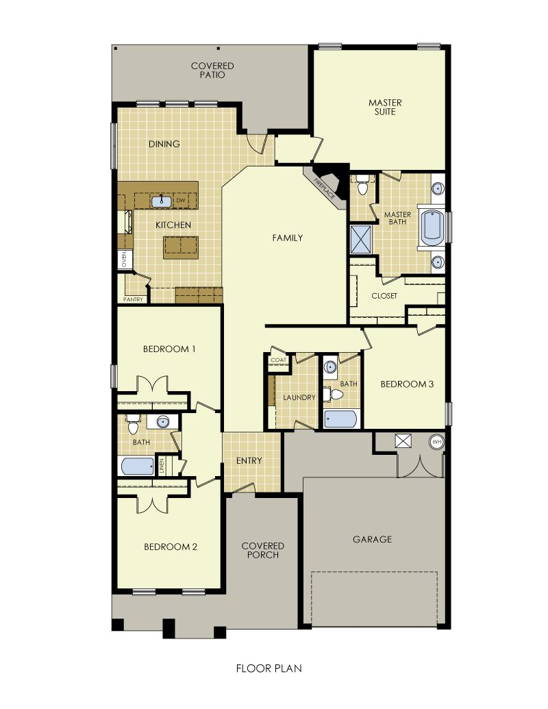 Carol Anne Floor Plan
