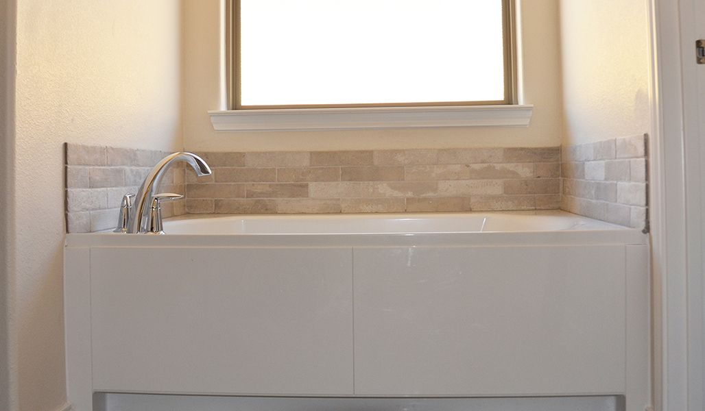 Bathroom featured in the Marie By Betenbough Homes in Midland-Odessa, TX