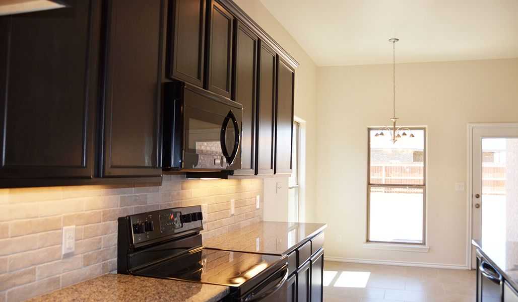 Kitchen featured in the Marie By Betenbough Homes in Amarillo, TX