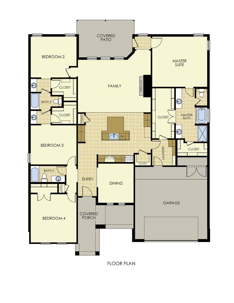 Erika Floor Plan
