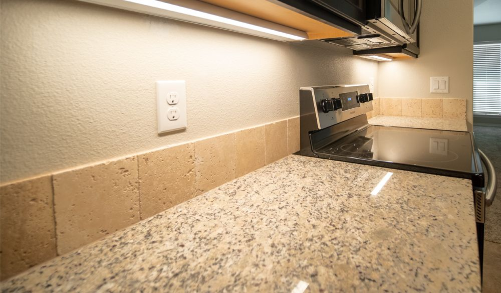 Kitchen featured in the Laura By Betenbough Homes in Midland-Odessa, TX