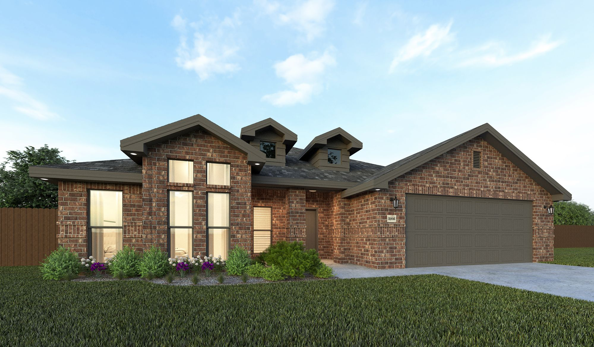 Exterior featured in the Beth By Betenbough Homes in Midland-Odessa, TX