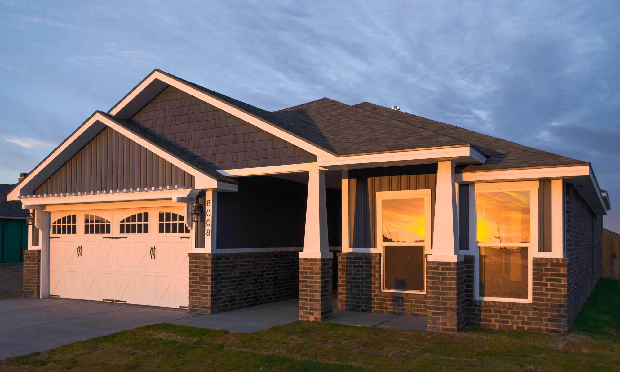 Exterior featured in the Amanda By Betenbough Homes in Midland-Odessa, TX