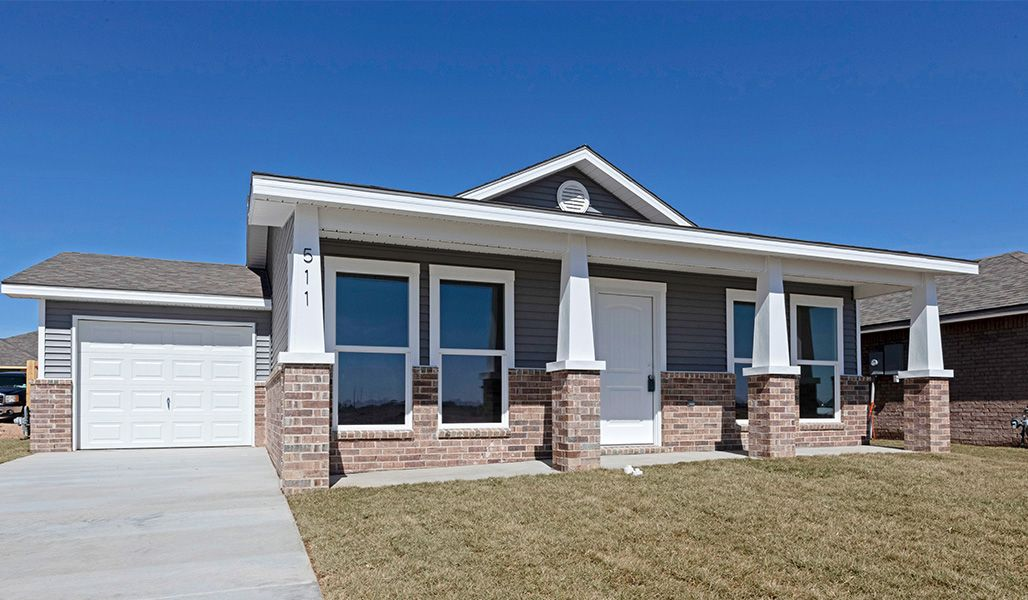 'Tradewind Square' by Betenbough Homes - Amarillo in Amarillo