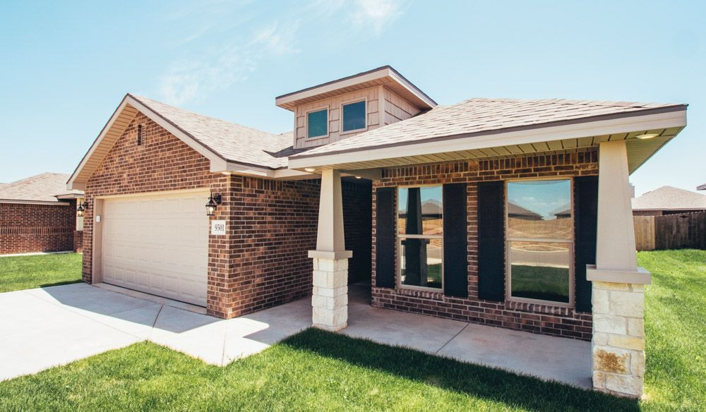 Exterior featured in the Nikki By Betenbough Homes in Midland-Odessa, TX