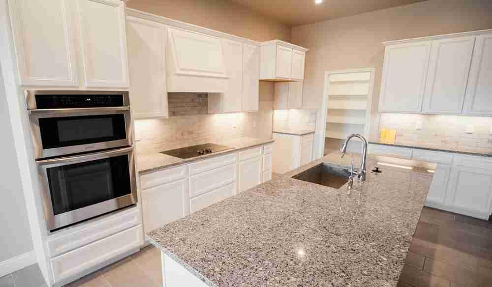 Spacious, open-concept kitchens!