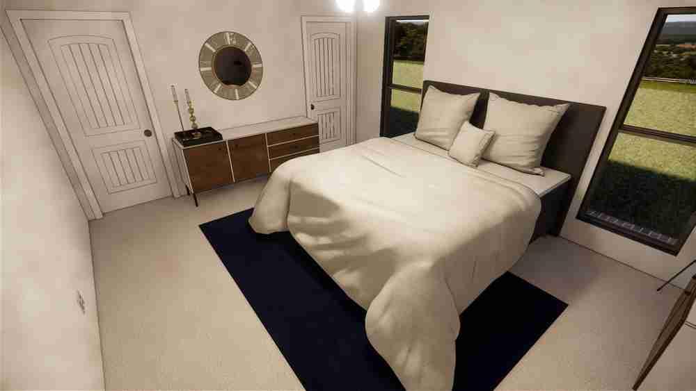 1600 Master Bedroom