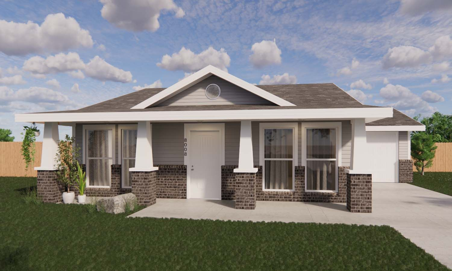 Exterior featured in the April By Betenbough Homes in Midland-Odessa, TX