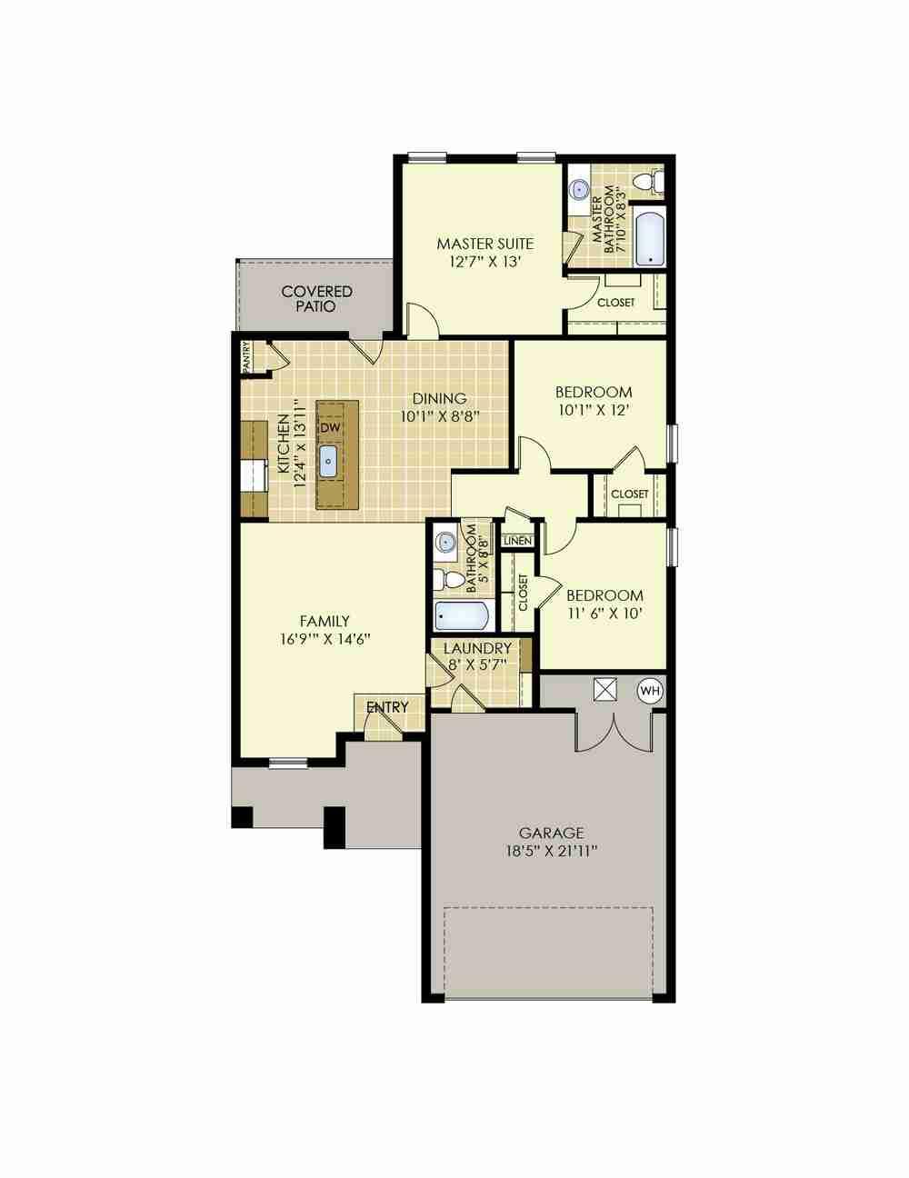 The Laura Floor Plan