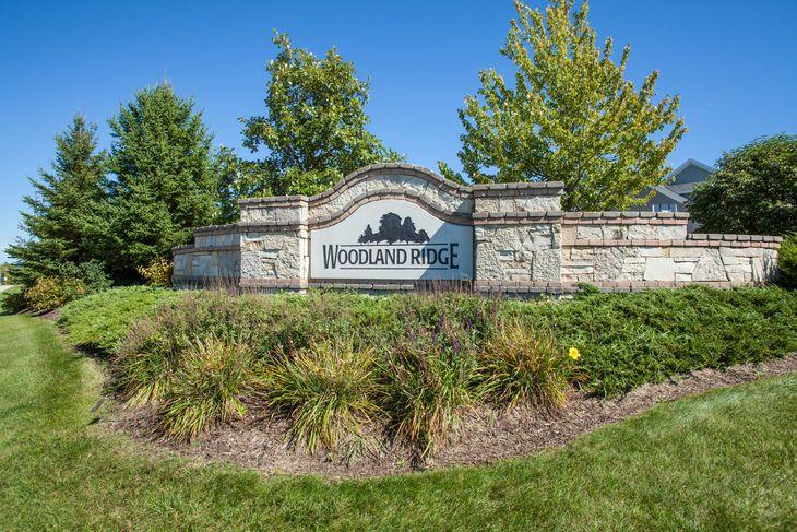 Woodland Ridge Entrance