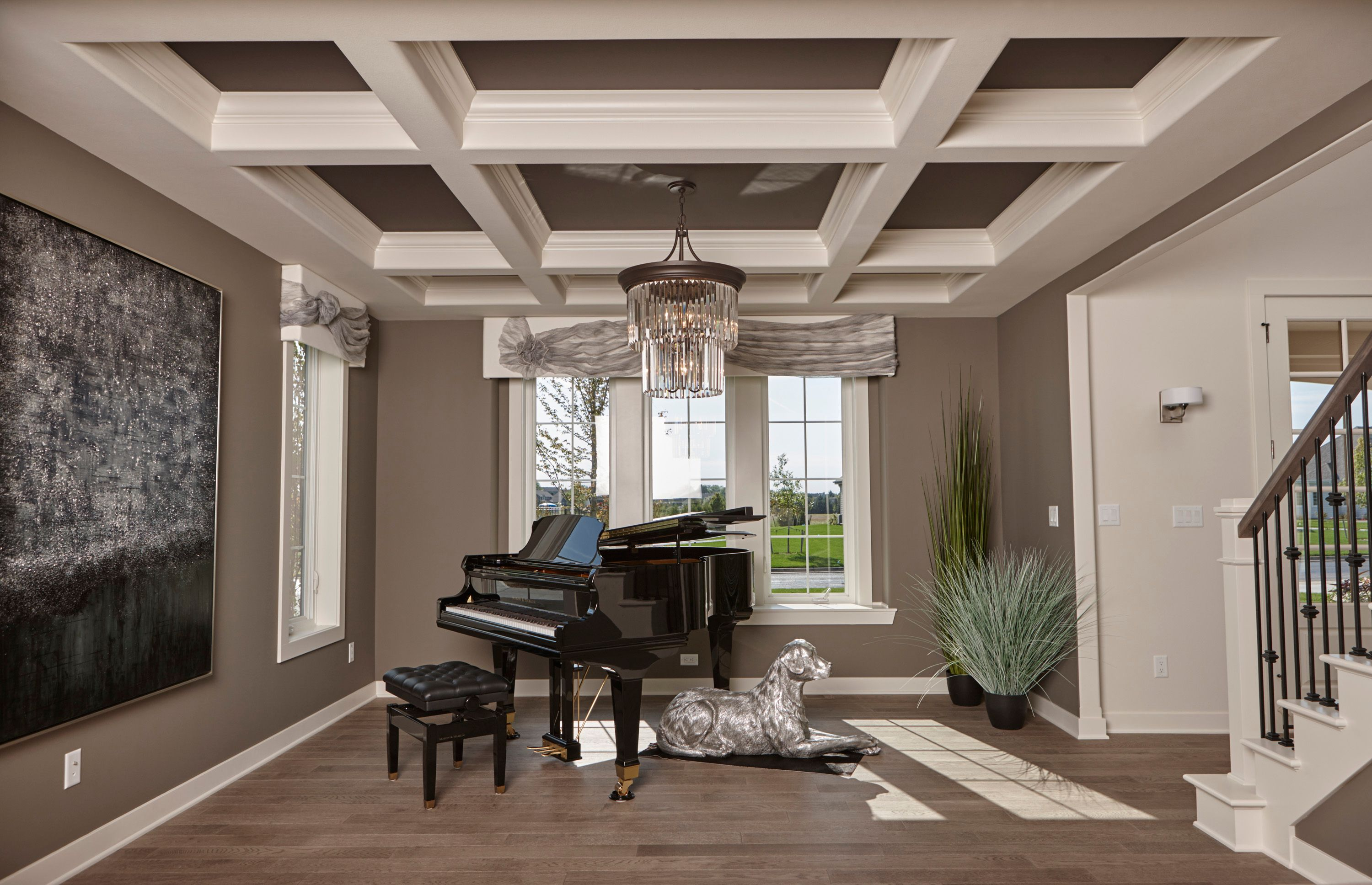 Living Area featured in The Verona, Plan 3000 By Bielinski Homes, Inc.