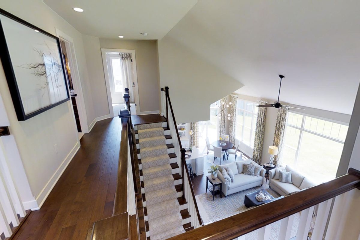 Living Area featured in The Charlotte, Plan 2560 By Bielinski Homes, Inc.