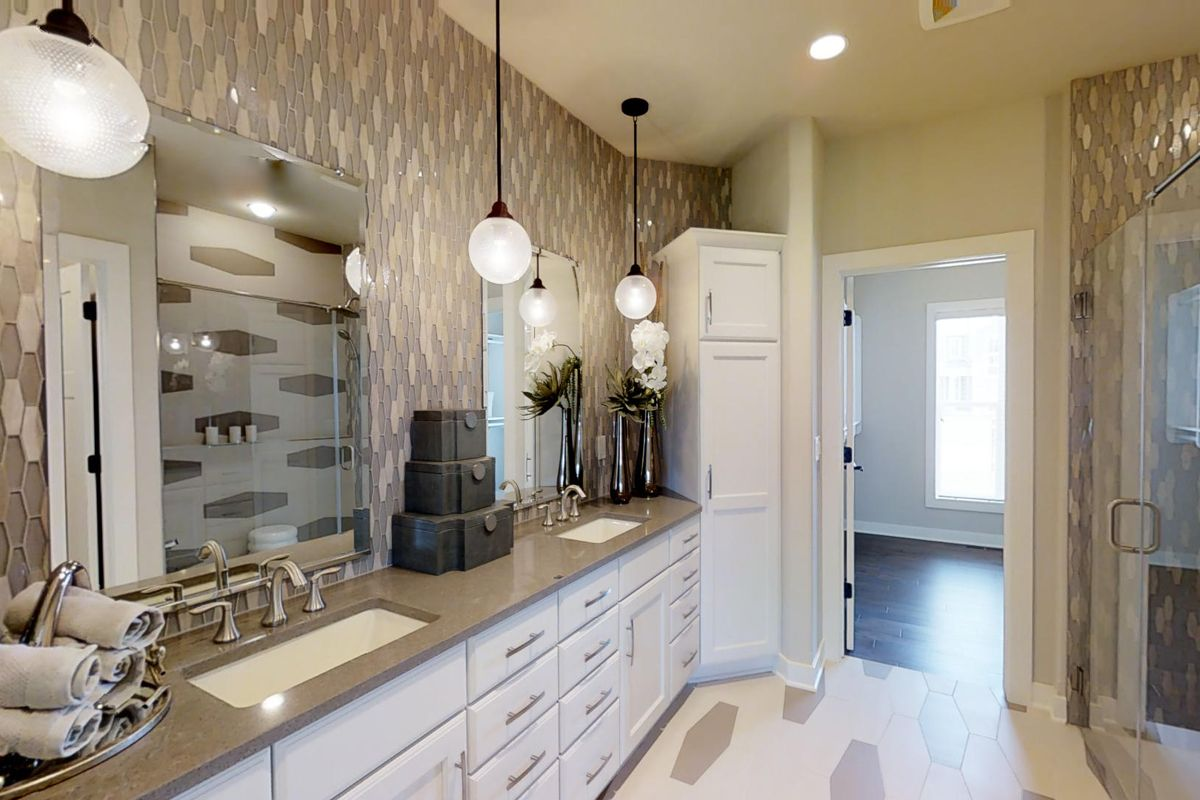 Bathroom featured in The Charlotte, Plan 2560 By Bielinski Homes, Inc.
