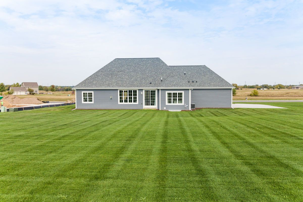 Exterior featured in The Clemont, Plan 2222 By Bielinski Homes, Inc. in Washington-Fond du Lac, WI