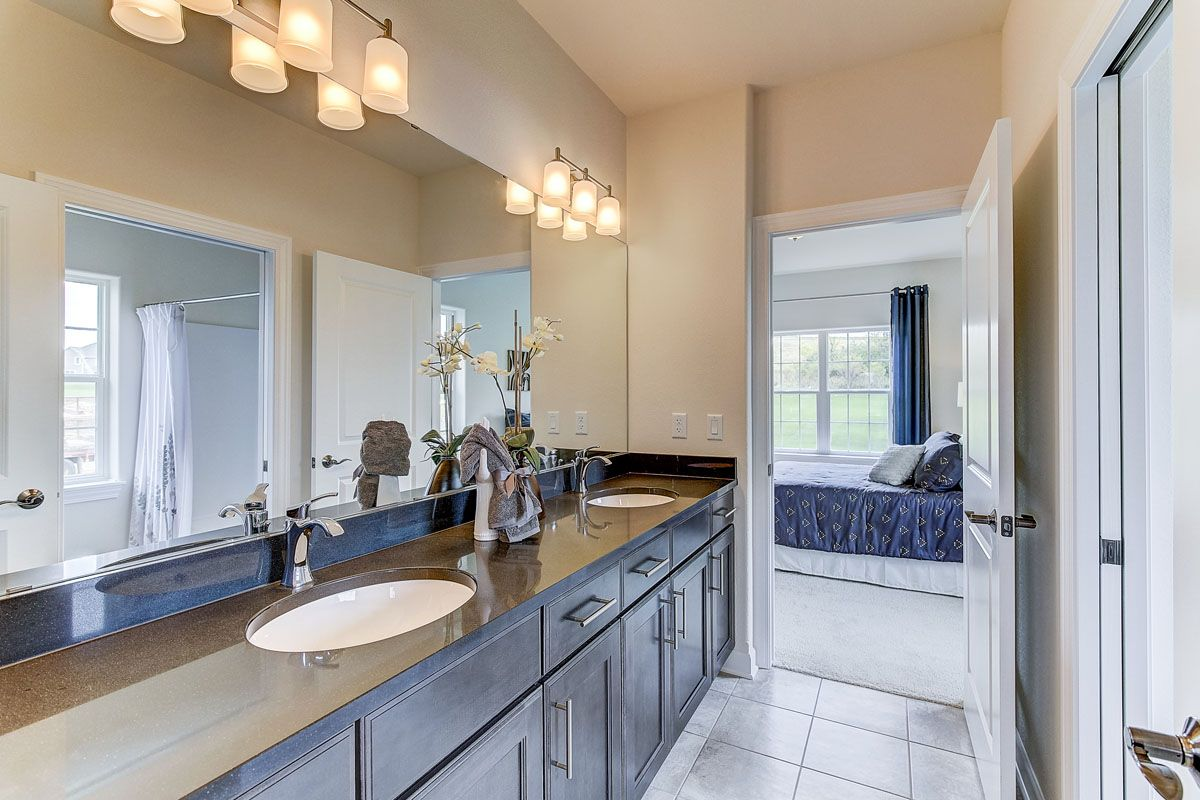 Bathroom featured in The Clemont, Plan 2222 By Bielinski Homes, Inc. in Washington-Fond du Lac, WI