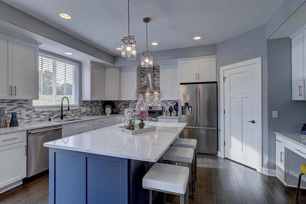 Kitchen featured in The Franklin, Plan 2526 By Bielinski Homes, Inc. in Washington-Fond du Lac, WI
