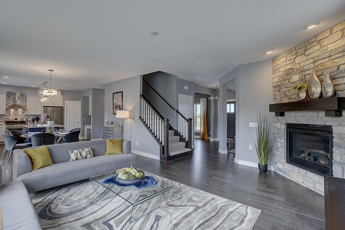 Living Area featured in The Franklin, Plan 2526 By Bielinski Homes, Inc.