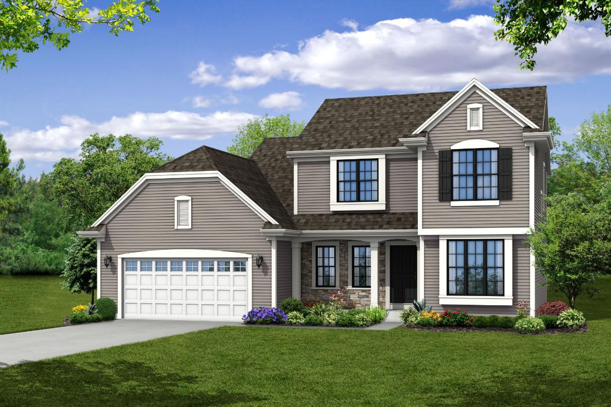 Exterior featured in The Skylar, Plan 2200 By Bielinski Homes, Inc. in Racine, WI