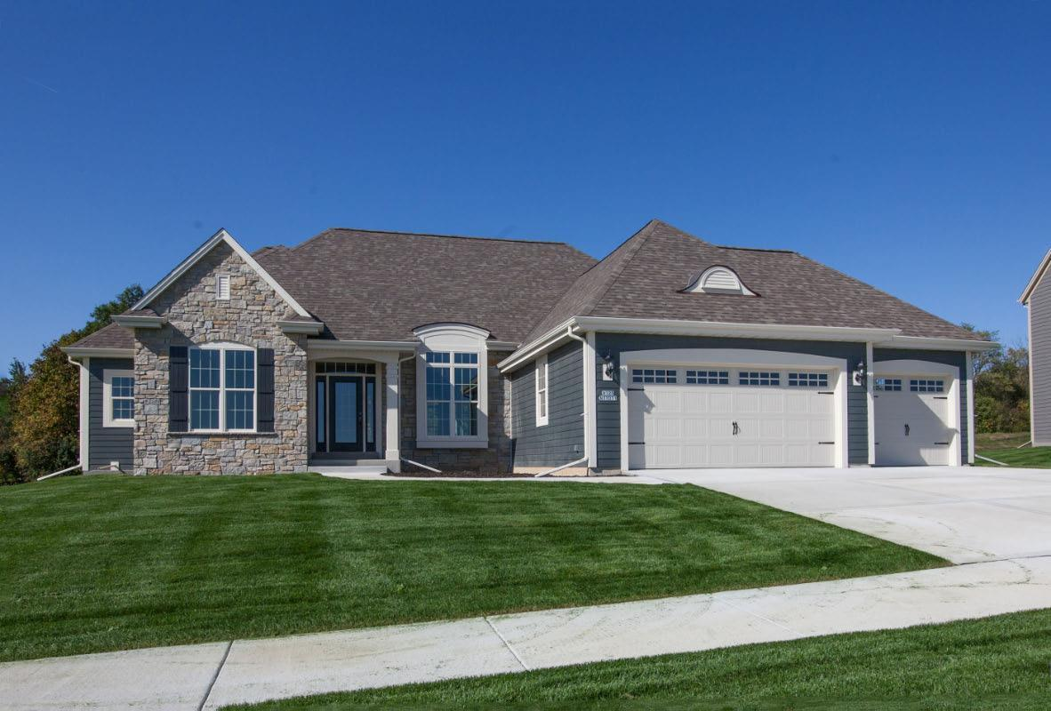 Exterior featured in The Independence, Plan 2302 By Bielinski Homes, Inc.