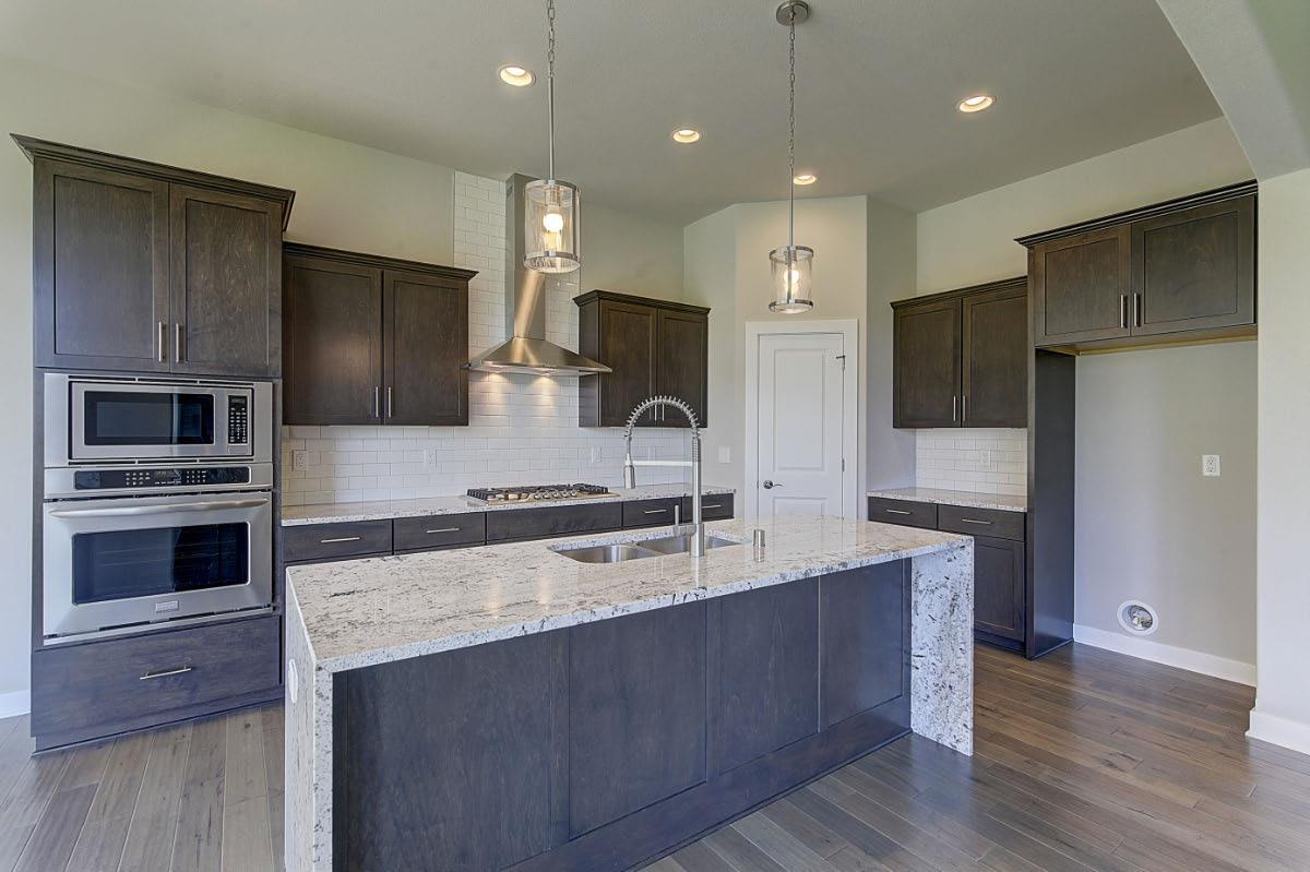 Kitchen featured in The Independence, Plan 2302 By Bielinski Homes, Inc.