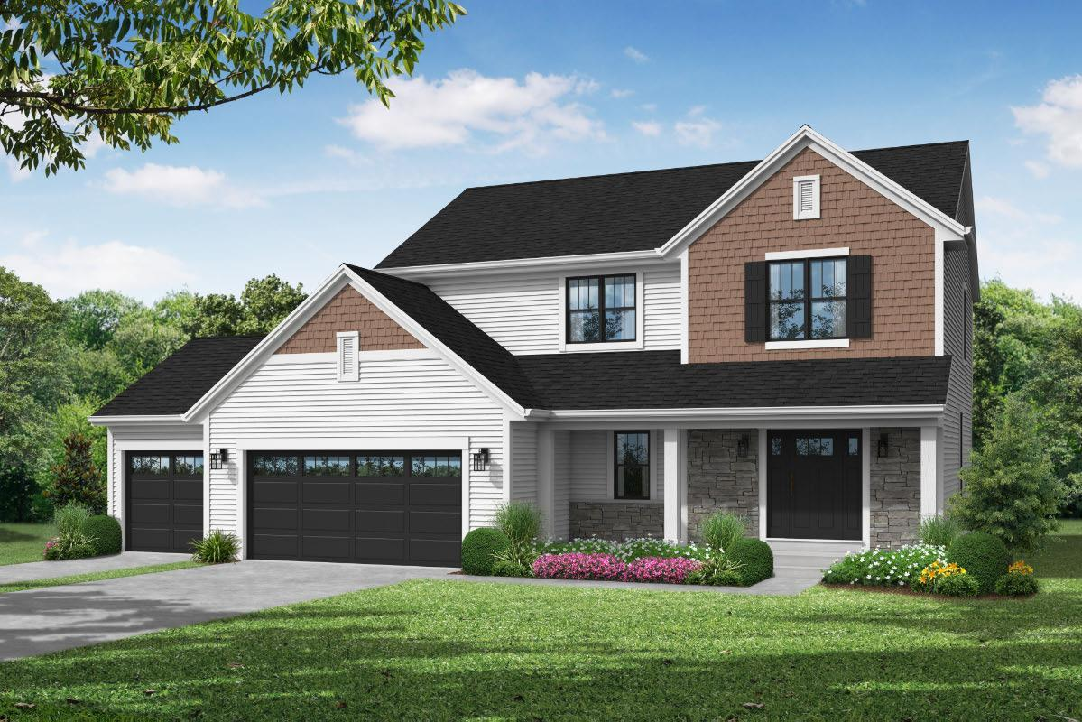 Exterior featured in The Taylor, Plan 2000 By Bielinski Homes, Inc. in Racine, WI