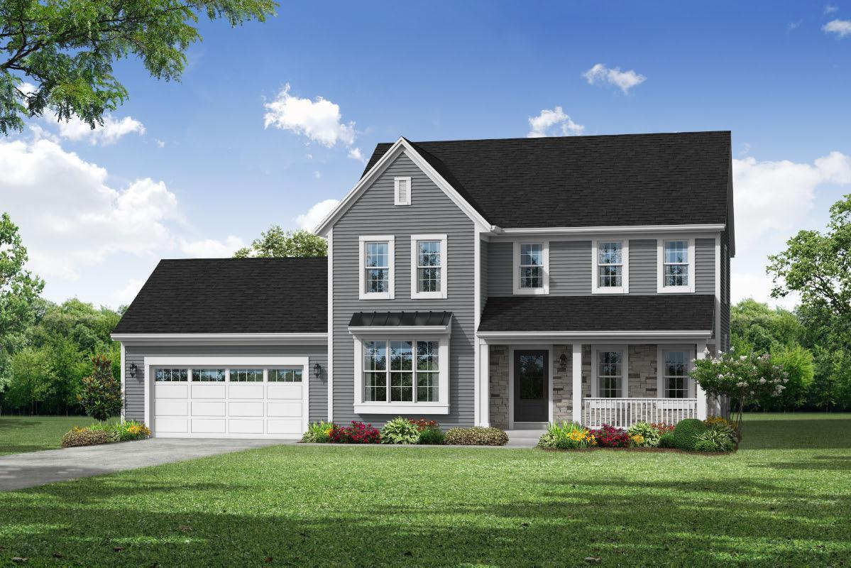 Exterior featured in The Hailey, Plan 2350 By Bielinski Homes, Inc. in Ozaukee-Sheboygan, WI