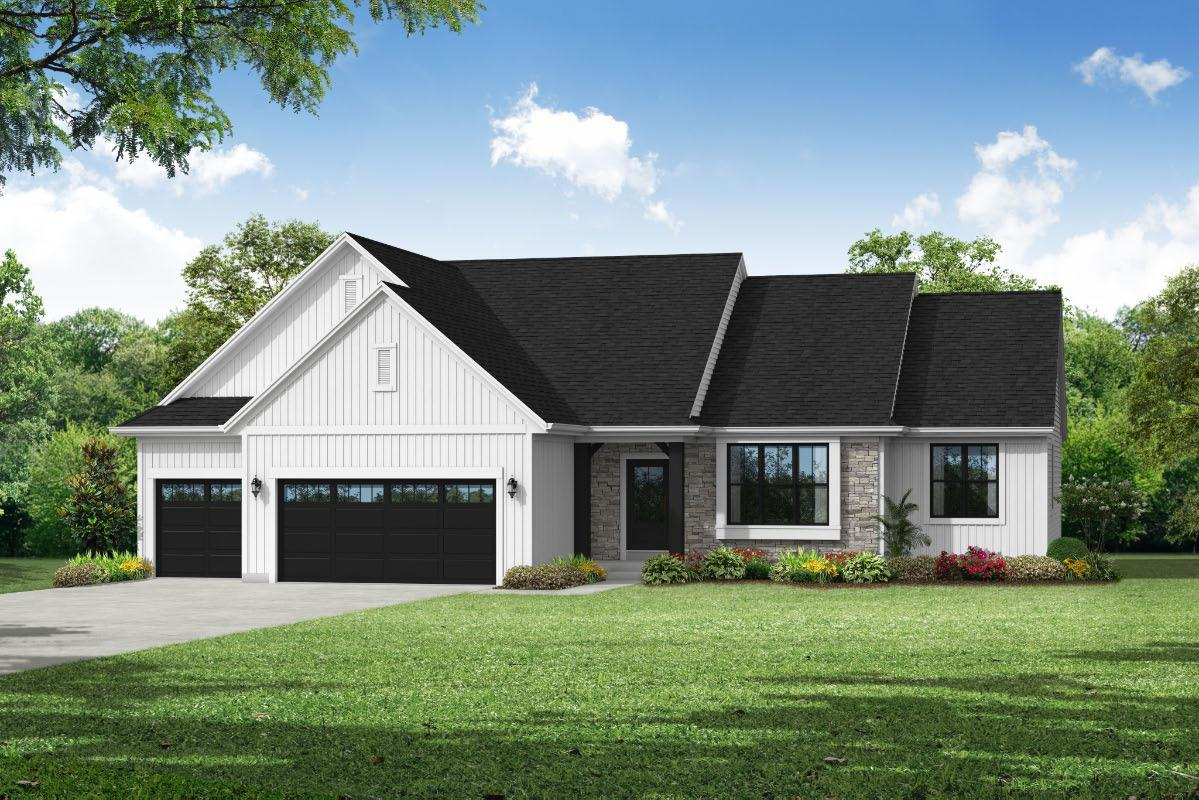 Exterior featured in The Rylee, Plan 1801 By Bielinski Homes, Inc. in Milwaukee-Waukesha, WI