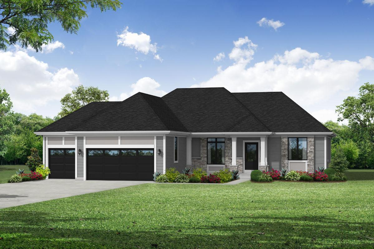 Exterior featured in The Hannah, Plan 1804 By Bielinski Homes, Inc. in Ozaukee-Sheboygan, WI