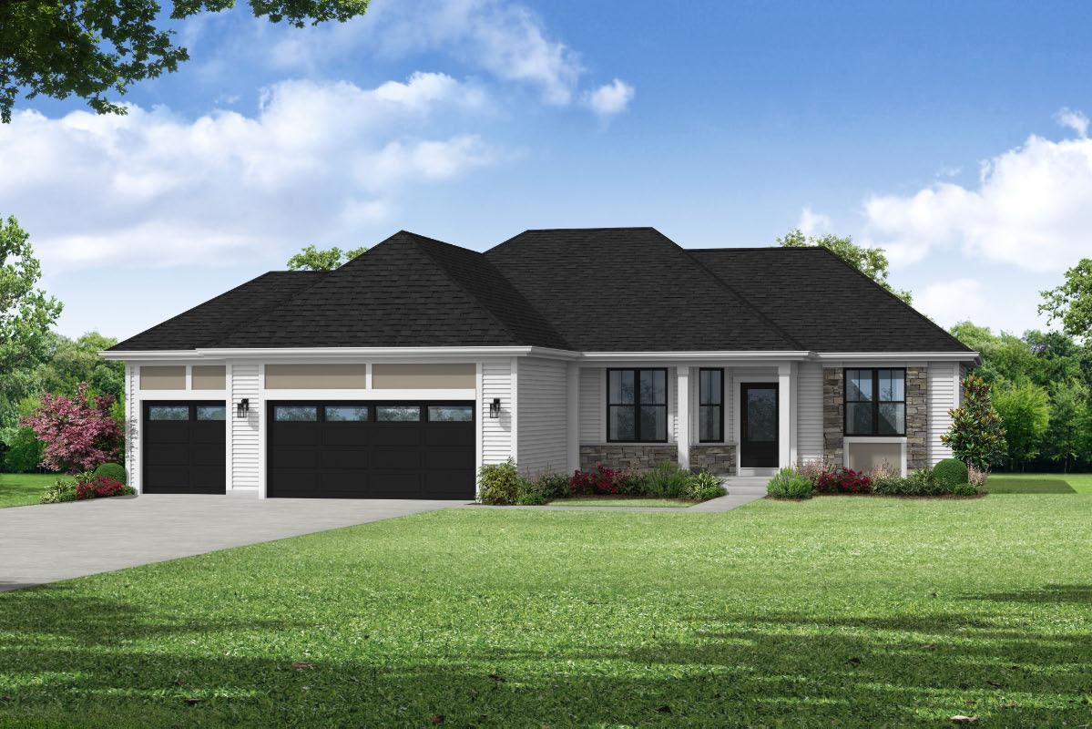 Exterior featured in The Sophia, Plan 1657 By Bielinski Homes, Inc. in Milwaukee-Waukesha, WI