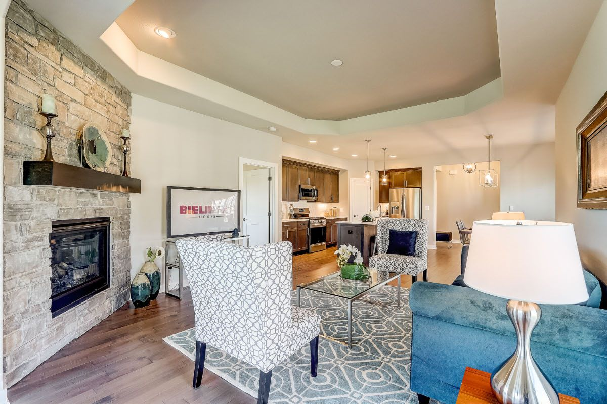 Living Area featured in The Adalyn, Plan 1506 By Bielinski Homes, Inc. in Milwaukee-Waukesha, WI
