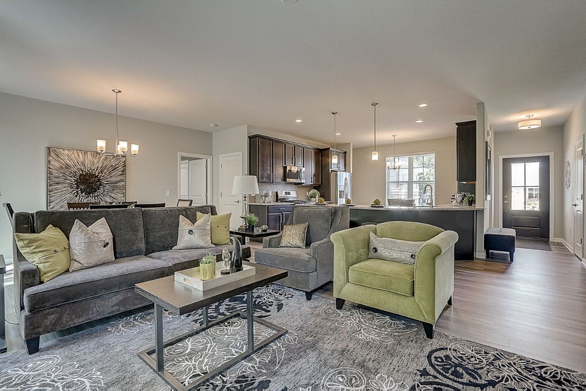 Living Area featured in The Sophia, Plan 1625 By Bielinski Homes, Inc. in Racine, WI