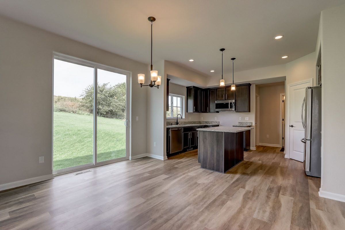 Kitchen featured in The Elise, Plan 2025 By Bielinski Homes, Inc. in Milwaukee-Waukesha, WI