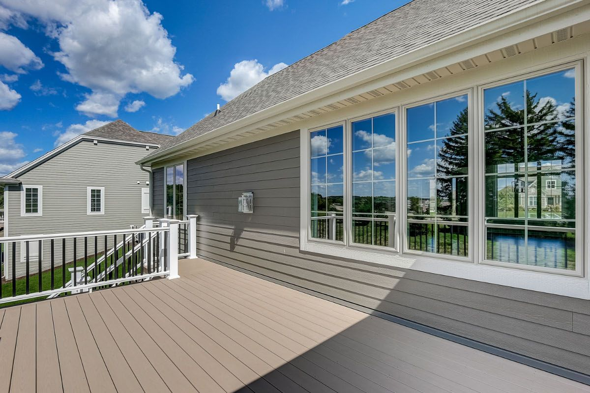 Exterior featured in The Preston, Plan 2300 By Bielinski Homes, Inc. in Washington-Fond du Lac, WI
