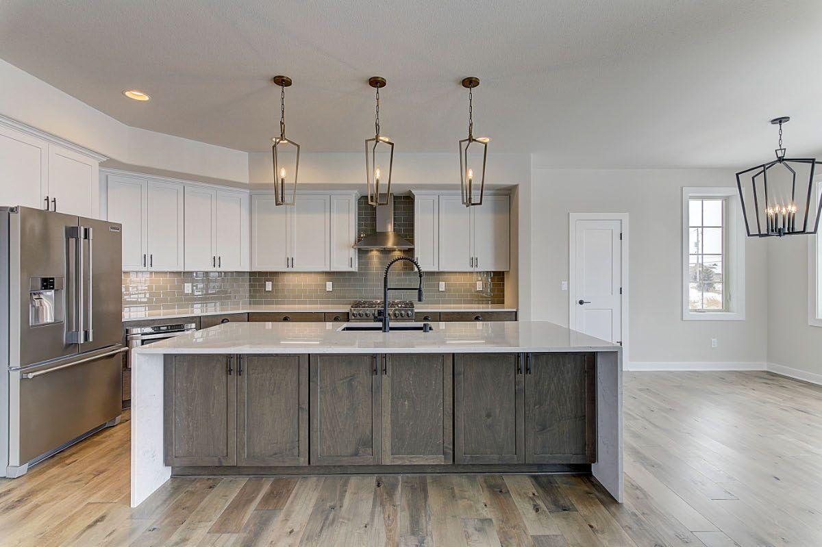 Kitchen featured in The Preston, Plan 2300 By Bielinski Homes, Inc. in Washington-Fond du Lac, WI