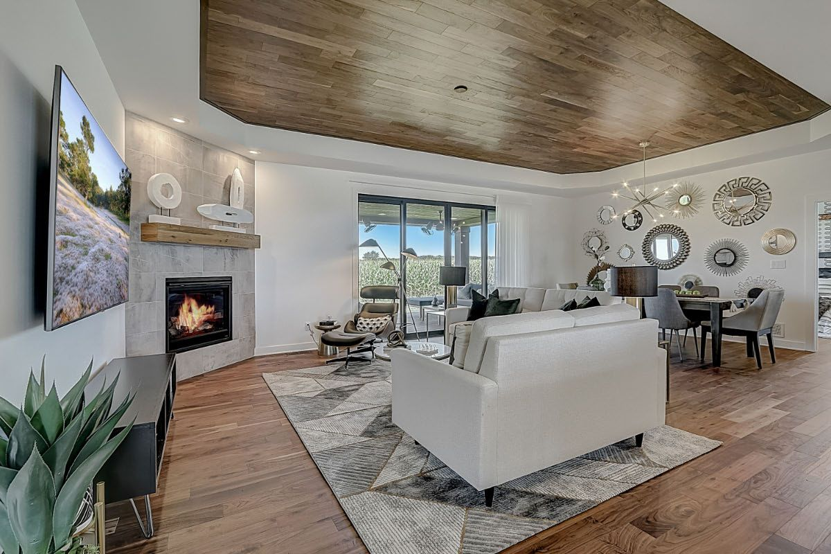 Living Area featured in The Clemont, Plan 2117 By Bielinski Homes, Inc. in Ozaukee-Sheboygan, WI