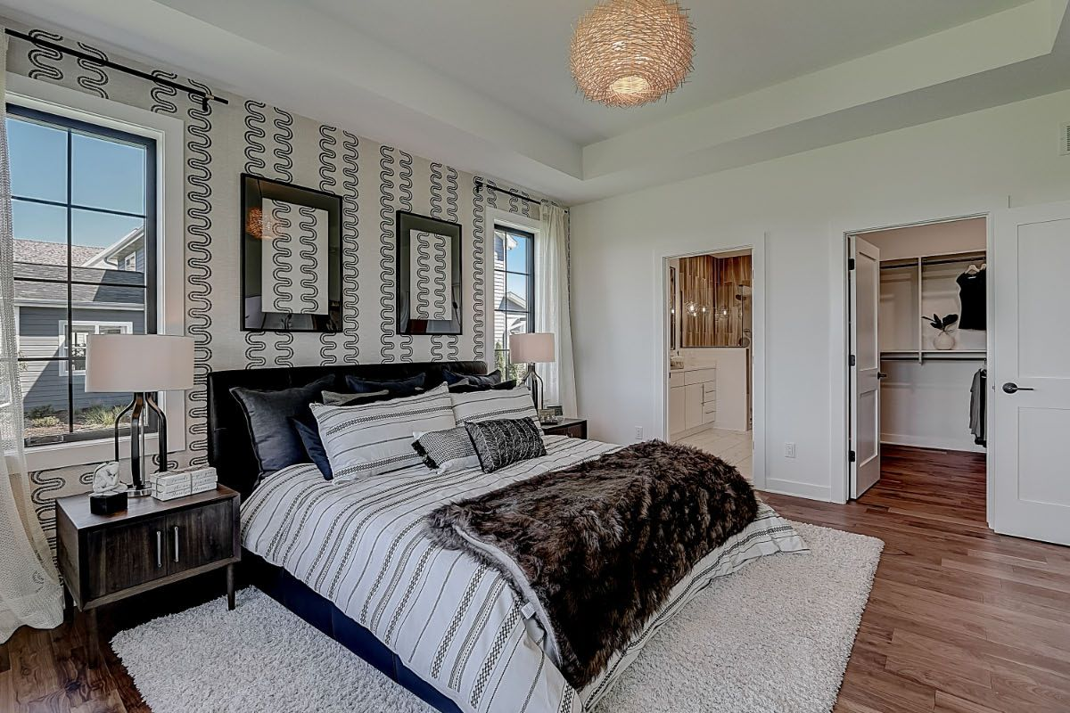 Bedroom featured in The Clemont, Plan 2117 By Bielinski Homes, Inc. in Milwaukee-Waukesha, WI