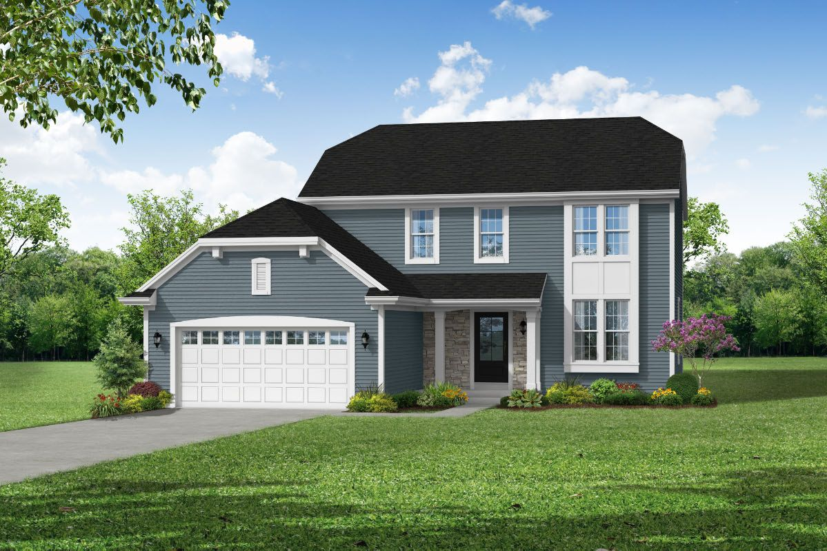 Exterior featured in The Hailey, Plan 2061 By Bielinski Homes, Inc. in Racine, WI