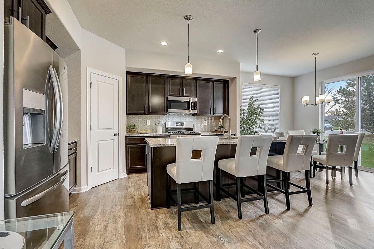 Kitchen featured in The Lauren, Plan 1653 By Bielinski Homes, Inc. in Racine, WI
