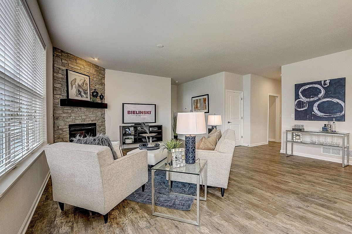 Living Area featured in The Lauren, Plan 1653 By Bielinski Homes, Inc. in Racine, WI