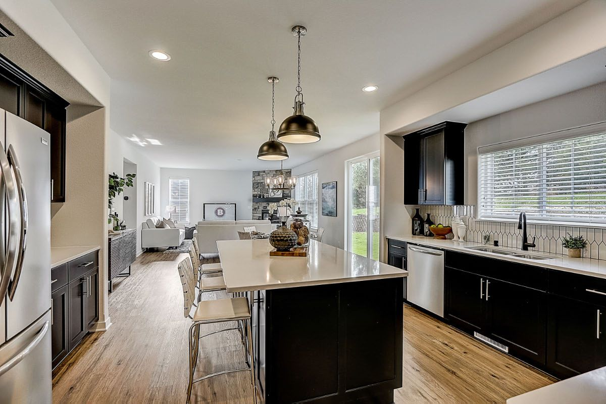 Kitchen featured in The Elise, Plan 2404 By Bielinski Homes, Inc. in Ozaukee-Sheboygan, WI