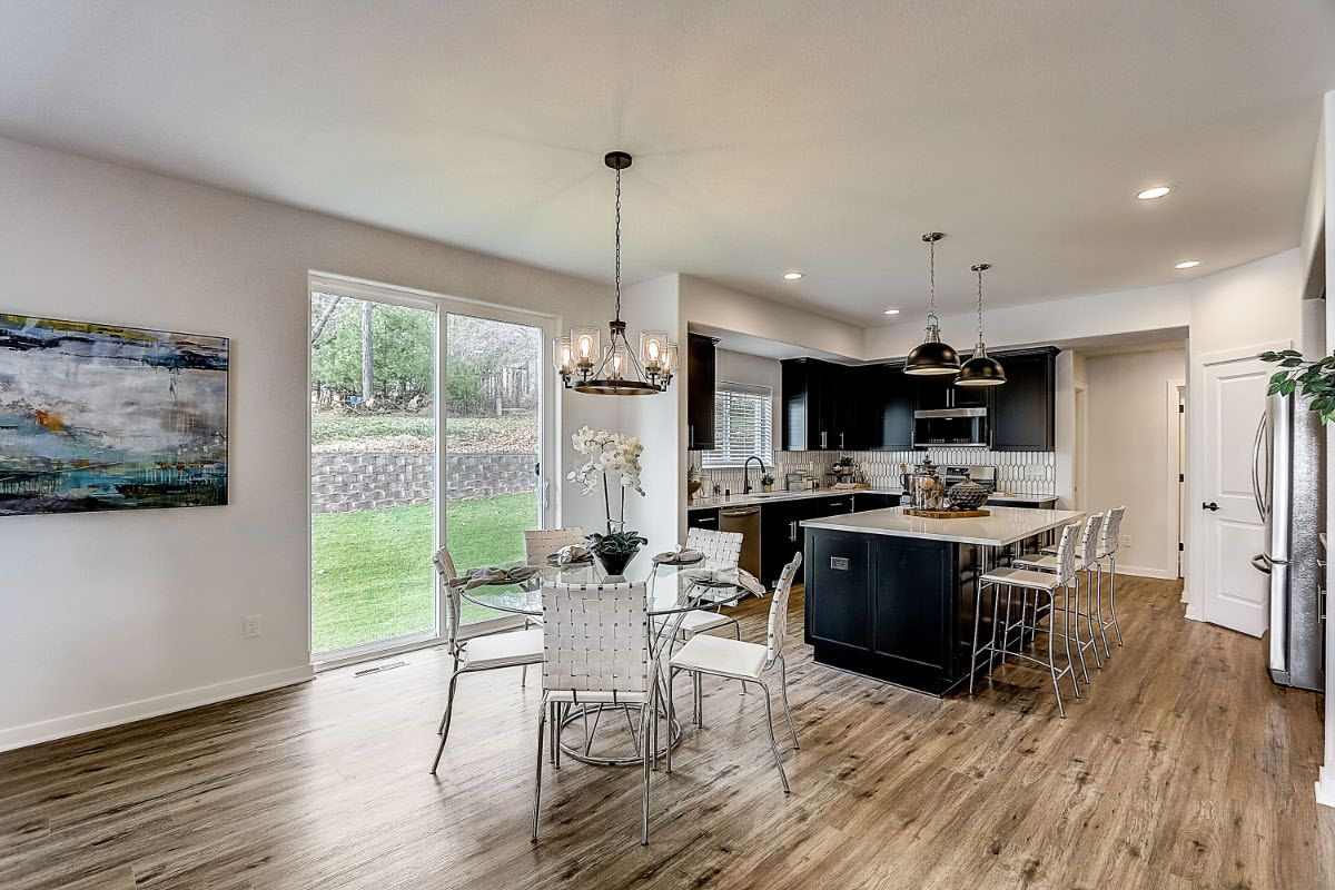 Kitchen featured in The Elise, Plan 2404 By Bielinski Homes, Inc. in Washington-Fond du Lac, WI