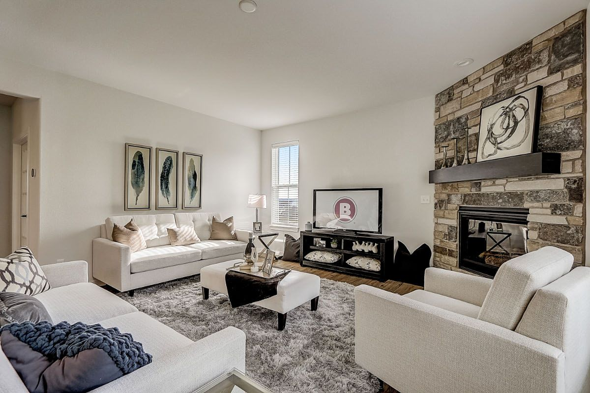 Living Area featured in The Elise, Plan 2404 By Bielinski Homes, Inc. in Ozaukee-Sheboygan, WI
