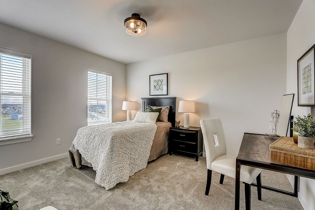 Bedroom featured in The Elise, Plan 2404 By Bielinski Homes, Inc. in Milwaukee-Waukesha, WI