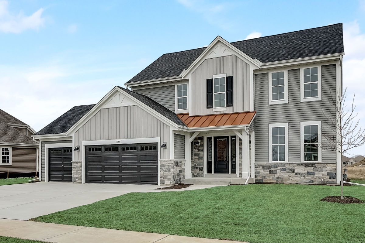 Exterior featured in The Elise, Plan 2203 By Bielinski Homes, Inc. in Racine, WI