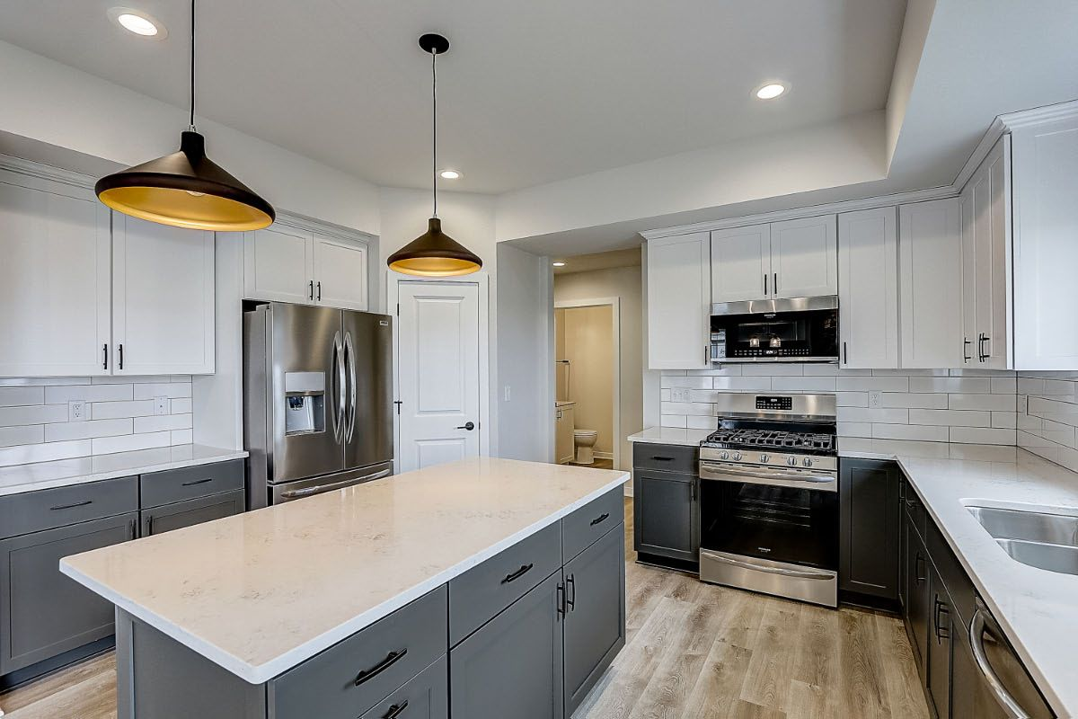 Kitchen featured in The Elise, Plan 2203 By Bielinski Homes, Inc. in Ozaukee-Sheboygan, WI