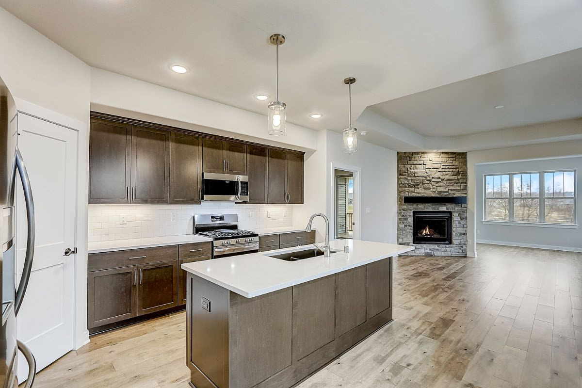 Kitchen featured in The Adalyn, Plan 1506 By Bielinski Homes, Inc. in Milwaukee-Waukesha, WI