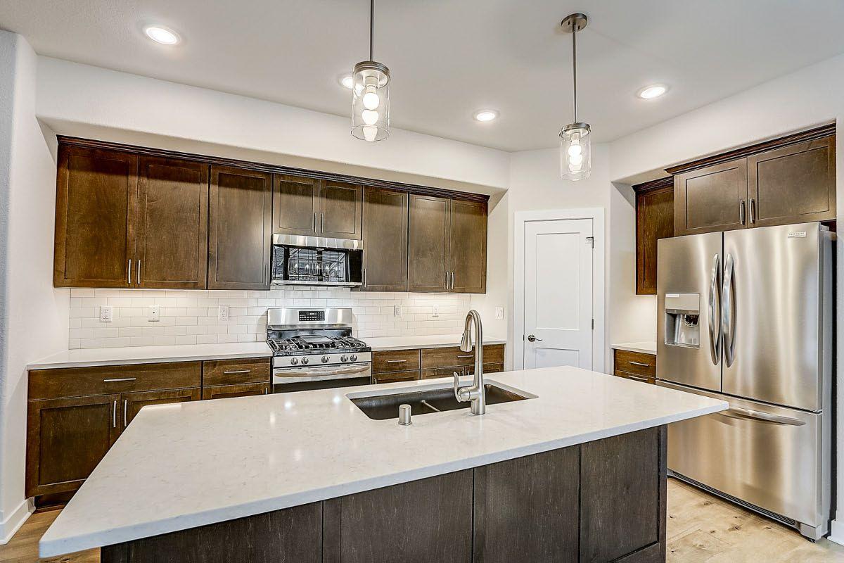 Kitchen featured in The Adalyn, Plan 1506 By Bielinski Homes, Inc. in Milwaukee-Waukesha, WI