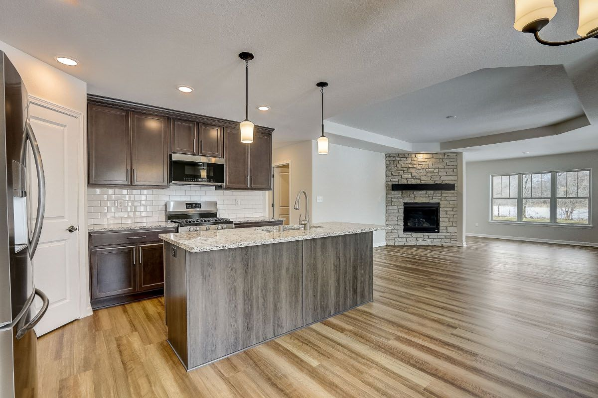 Kitchen featured in The Margo, Plan 1400 By Bielinski Homes, Inc. in Racine, WI