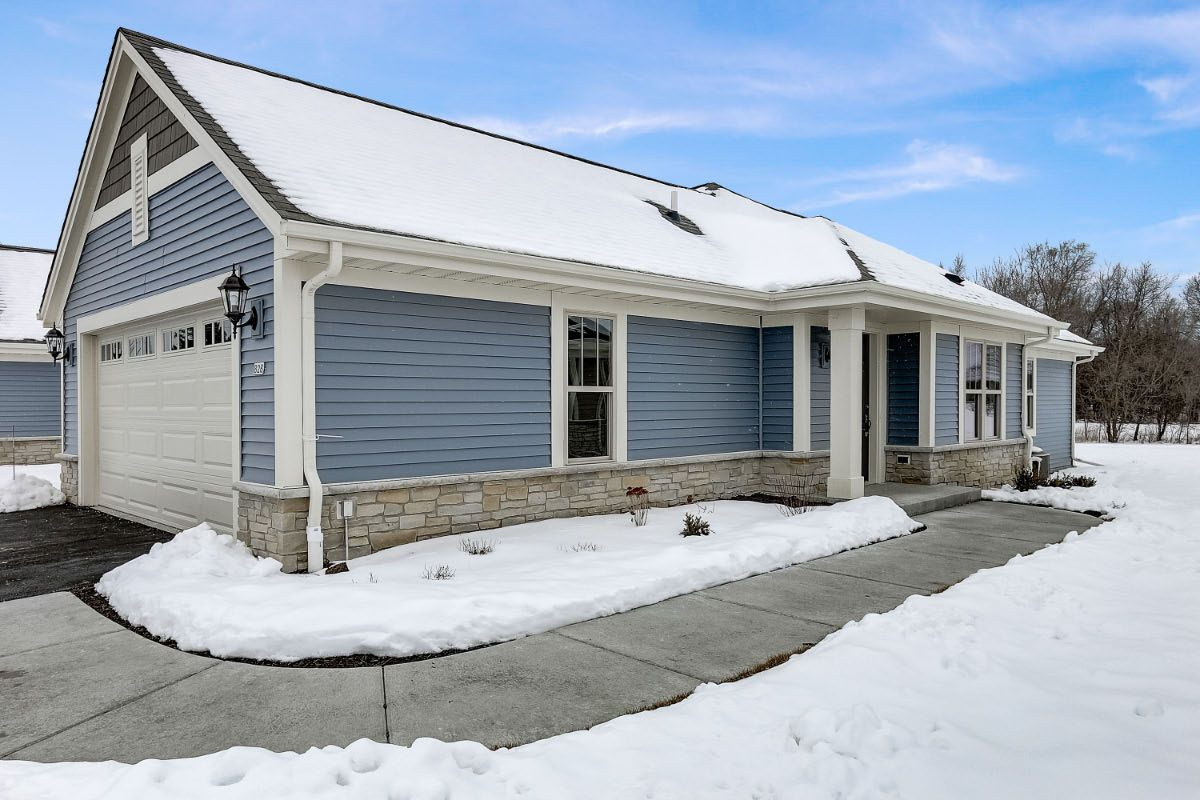Exterior featured in The Margo, Plan 1400 By Bielinski Homes, Inc. in Milwaukee-Waukesha, WI